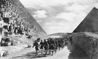 Britse troepen in Egypte in 1940