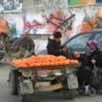 Markt in Gaza (bron: weblog Anja Meulenbelt, 04/02/2013)