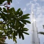 Met de Burj Khalifa heeft de emir de hoogste toren ter wereld (828 meter)