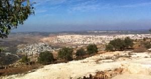 Palestijns dorp en Joodse nederzetting; november 2012