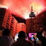 Hassan Nasrallah spreekt aanhangers toe