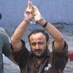 "Marwan Barghouti, ""mister intifada"". Bron: site jfjfp"