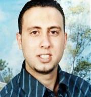 Alaa Abu Dhein, de aanvaller.