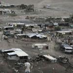 Bedoeïnen behuizing in de Westelijke Jordaanoever.