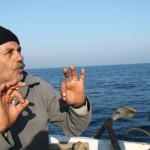 Visser bij Gaza, gevaarlijk werk (foto: blog Second Glance)