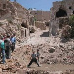 De historische kern van Hebron, na de 2e intifada.