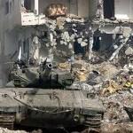 Reputatieschade: leger in Jenin tijdens volksopstand, 2002 (foto: site Adalah)