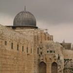 De 'tweede' Al-Aqsa moskee.