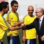 Sepp Blatter: balanceer 'act' tussen (vooral) Europa en Latijns Amerika