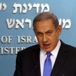 De premier, afgelopen maandag: aanvoerder in Israël, maar de internationale caravaan is vertrokken.