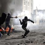Ongelijk gevecht in Shuafat Oost-Jeruzalem (bron: rawstory.png)