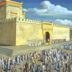 Ontwerp voor de Derde tempel; vaag bekende architectuur