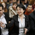 Ayman Odeh (li.) leider van de Joint List: Palestijnse parlementsleden leggen hun terughoudendheid deels af