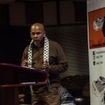 De auteur van de brief, Farid Esack, tijdens een speech. (Meraj Chhaya/Flicker)