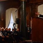 Kerry (w.s. 2014) voor het Saban Forum, een must voor top-Democraten
