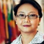 Retno Marsudi, minister van Buitenlandse Zaken van het grootste moslimland ter wereld, Indonesië