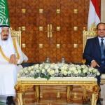 Al-Sisi (Egypte) in april om financiële hulp bij Saoedische koning. De driehoek VS, S.-A., Israël beslist.
