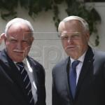 Ayrault zondag met zijn Palestijnse collega Al-Malki