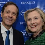 Isaac Herzog met Clinton II